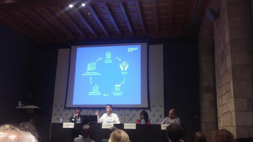 El socio director de Zip Zap Social, Borja Expósito, participa en la jornada Turisme i Societat en Girona